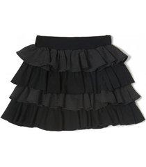 falda negra mapamondo pepino