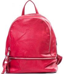 mochila casual rojo carven