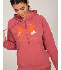 rival fleece graphic hoodie
