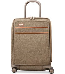 "hartmann tweed legend 21"" domestic carry-on expandable spinner suitcase"