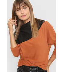 sweater camel destino collection bicolor