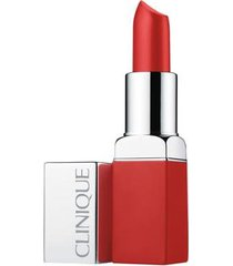 batom clinique - pop matte matte lip colour + primer 03 - ruby pop