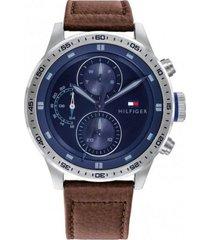 reloj marrón tommy hilfiger 1791807 - superbrands