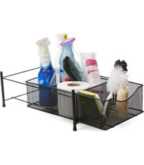 mind reader 3 compartment metal mesh storage baskets organizer, home, office, kitchen, bathroom