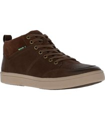botin cuero nobuck alston chocolate rockford