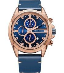 reloj análogo f0130g-3 hombre azul