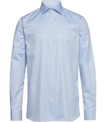 hawk slim shirt skjorta business blå oscar jacobson