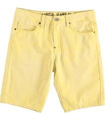 garcia low loose jeans bermuda lemon