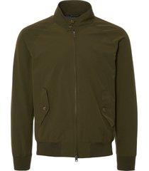 baracuta original g9 beech military green harrington jacket