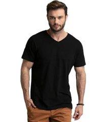 camiseta di nuevo gola v street masculina - masculino