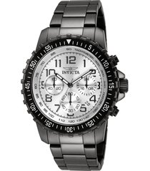 reloj invicta modelo 11370 gunmetal masculino