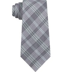 calvin klein men's cameron plaid tie