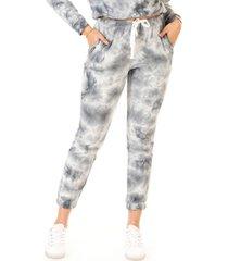 black tape petite tie-dyed jogger pants