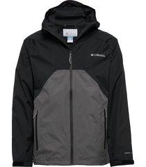 rain scape™ jacket outerwear sport jackets zwart columbia