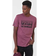 camiseta ...lost hachuras roxa - roxo - masculino - dafiti