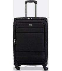 maleta de viaje mediana textil ruedas 360 00140