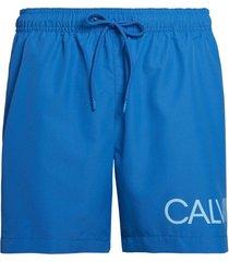 calvin klein heren zwembroek drawstring - imperial blauw