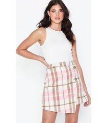 nly trend wrap front mini skirt minikjolar