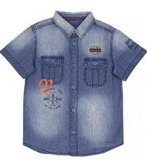 camisa - jeans rusty azul ficcus