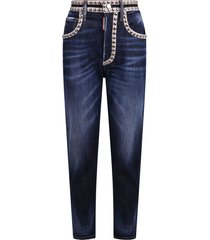 dsquared2 studded jeans
