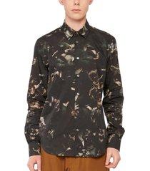 camouflage bloemen shirt