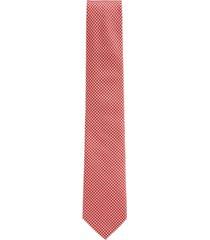 boss men's bright orange tie