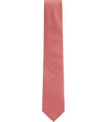 boss men's bright orange tie