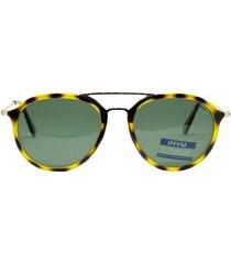 gafas de sol amarillo invu t1901c