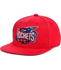 mitchell & ness houston rockets hwc basic classic snapback cap
