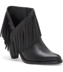 jessica simpson jewles fringe booties women's shoes