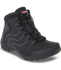 envío gratis botas outdoor tomoe negro para mujer croydon