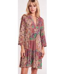 krótka sukienka we wzory susane