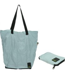 shopping bag matte aruba celeste bubba bags