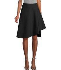 asymmetric a-line skirt