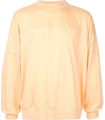 08sircus jersey sweatshirt - orange