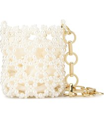 0711 sasha bucket bag - white