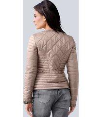 kort jacka med vaddering alba moda mullvad::rosa