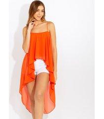 blusas naranja derek 823156