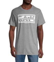 g-star raw men's graphic cotton tee - light shadow - size s