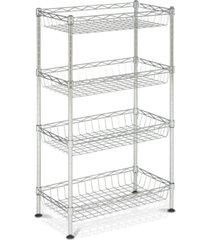gaston 4-tier chrome wire mini rack
