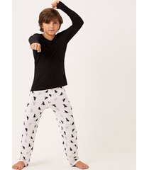 pijama joge kids multicolorido