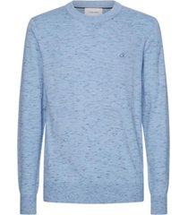 sweater space dye c-neck multicolor calvin klein