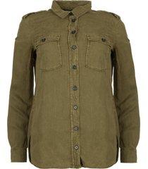 doorknoop blouse jill  grijs