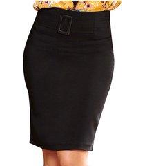 envío gratis falda vero negro para mujer croydon