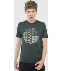 camiseta dudalina circl verde - kanui