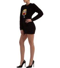 vestito abito donna corto miniabito manica lunga cfmascotte