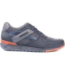 zapato sneaker para hombre san polos 3303 azul