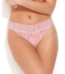 hanky panky women's signature lace original rise thong