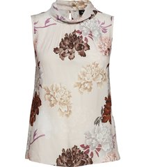 3318 small - prosa top blouse mouwloos roze sand