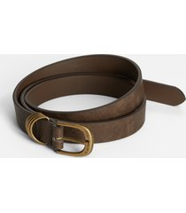 maurices womens brown multi ring belt